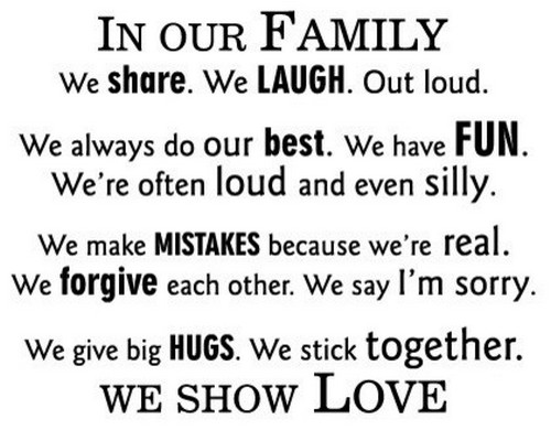 The 80 Family Love Quotes - Status Quotes for Whatsapp