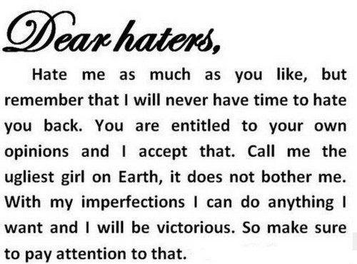 75 Hater Quotes And Hater Sayings Status Quotes For Whatsapp