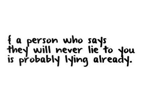 70 Lying Quotes And Sayings About Lies And Hurting For Him In