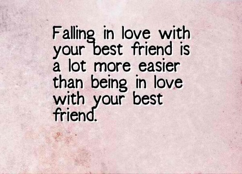 top falling in love your best friend quotes status