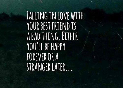 Best Friend Love Quotes Unique Top 65 Falling In Love With Your Best Friend Quotes  Status