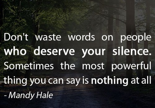 80 Silence Quotes And Sayings About Silence Truth And Hurt Status