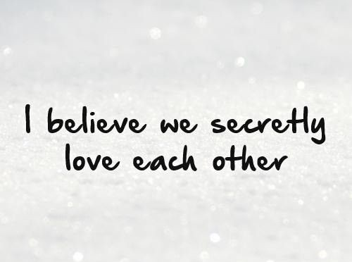 hidden love quotes
