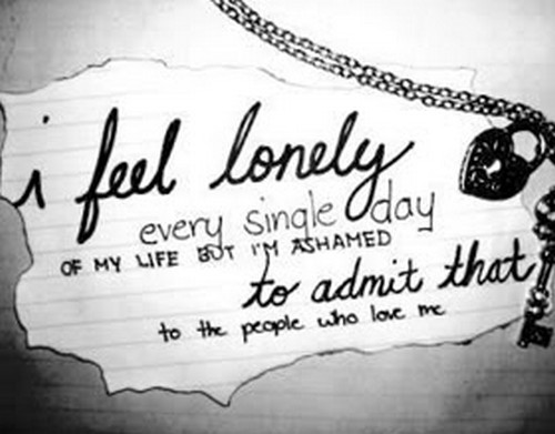 FEELING LONELY QUOTES FOR HER